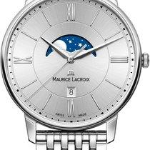Maurice Lacroix Eliros MOONPHASE EL1108-SS002-110-1 Herrenarmb...