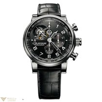 Graham Tourbillograph Mens Wristwatch Silverstone Limited...