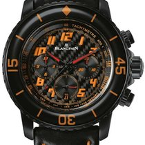 Blancpain Fifty Fathoms Speed Command Stainless Steel Men'...