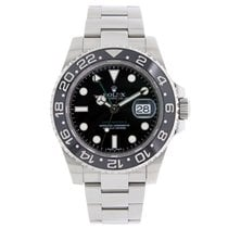 Rolex GMT MASTER II  Black Ceramic Stainless Steel Watch 2009