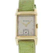 Bulova Vintage Bulova 14k Yellow Gold Watch