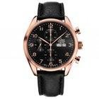 Laco Paris Stahl roségold Chronograph Automatik 44mm Neu