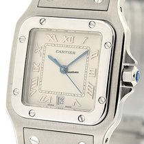 Cartier Santos Collection Santos Galbee Stainless Steel 29mm...