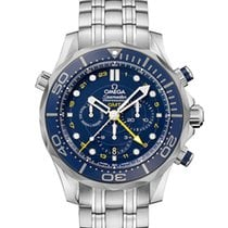 Omega SEAMASTER DIVER 300 M CO-AXIAL GMT CHRONOGRAPH 44 MM