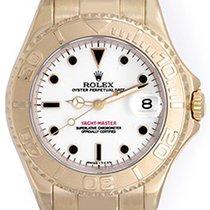 Rolex Yacht-Master Midsize Men's/Ladies 18k Gold Watch 68628