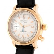 Graham Collector 1695 Limited Edition Red Gold, Leather, 42mm
