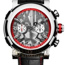 Romain Jerome Titanic DNA Steampunk Chrono Red in Polished Steel
