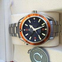 Omega Planet Ocean CoAxial 42mm Orange Bezel 600m waterprof