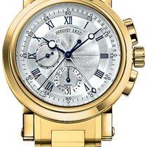 브레게 (Breguet) Marine Chronograph - Mens 5827ba/12/am0