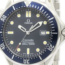 Omega Polished Omega Seamaster Professional 300m Quartz Mens...