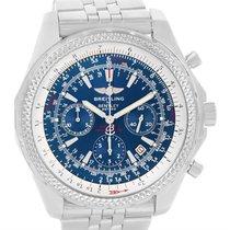 Breitling Bentley Motors Blue Dial Chronograph Mens Watch A25362
