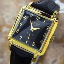 Gruen Rare Bumper Automatic Swiss Made Vintage 1960s Gold...