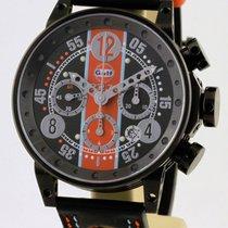 B.R.M Brm Racing Gulf Chronograph V12-44-gu-n-ag-1 Limited...