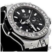 Hublot 301.sm.1770.gr Big Bang 44mm Black Carbon Dial Diamond...