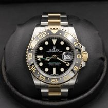 Rolex Gmt Master Ii 116713ln Stainless Steel / Yellow Gold