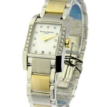 Baume & Mercier 8599 Diamant Ladys in 2-Tone with Partial...