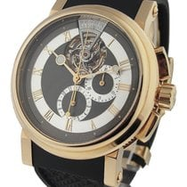 Breguet 5837BR/92/5ZU Marine Chronograph Tourbillon in Rose...