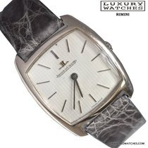Jaeger-LeCoultre Square 9040 Ultra-Thin white gold 1980's