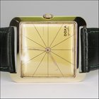 Doxa Grafic Handaufzug 14kt Gold