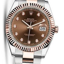 Rolex OYSTER PERPETUAL DATEJUST 41MM DIAMOND 126331 NEW