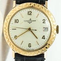 Ulysse Nardin vintage gold watch