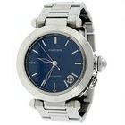 Cartier Pasha C Midsize Blue Dial Automatic Watch W31014M7