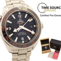 Omega Seamaster Planet Ocean GMT Blue Ceramic B&P Watch