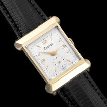 Zodiac 1940's Vintage Mens Dress Watch - 14K Gold