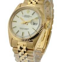 Rolex Used Men's All Yellow Gold Datejust