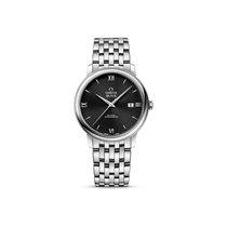 Omega De Ville Steel Black Dial 424.10.40.20.01.001 watch