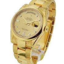 Rolex Unworn 118208 Day Date 36mm President in Yellow Gold -...