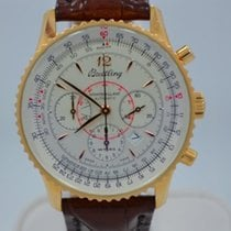 Breitling Navitimer Montbrillant Chronograph 18K Solid Yellow...