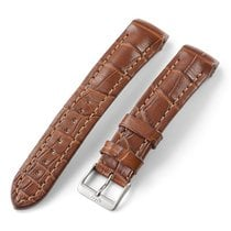 Fortis Alligator Strap Light Brown With End Pieces And Pin...