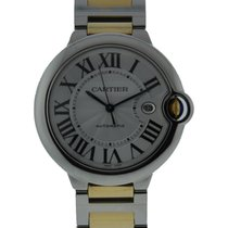 Cartier Ballon Bleu 2 Tone 42mm Automatic Stainless Steel And...