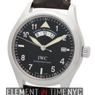 IWC Pilot Collection Pilot UTC 39mm Stainless Steel Black...