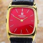 Universal Genève Swiss Made Unisex Gold Plated Original Dress...