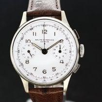 Baume & Mercier Chronograph Handaufzug White dial Ca. aus...