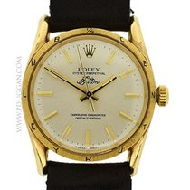 Rolex 14k yellow gold Oyster Perpetual