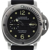 Panerai Men's  Luminor Submersible Titanium PAM25