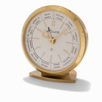 Jaeger-LeCoultre 8-Day Alarm Desk-Clock, Switzerland, c.1960