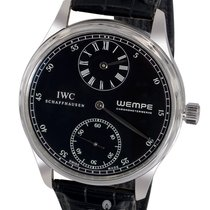 IWC Portuguese Regulateur Wempe Limited Edition - Platinum on...