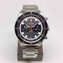 Tudor Heritage Chronograph Grey Black Dial Automatic 42mm