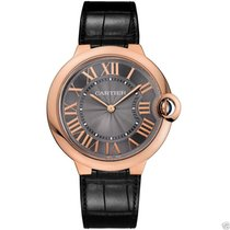 Cartier Ballon Bleu 40mm w6920089 18kt Rose Gold Grey Dial NEW