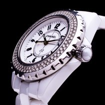 Chanel J12 Ceramic Keramik Lady Date Brillianten Diamonds