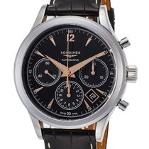 Longines Heritage L2.750.4.56.0 Chronograph Automatic Steel...