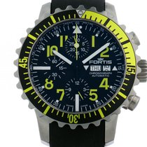 Fortis B-42 Marinemaster Chronograph Yellow Stahl Automatik 42mm