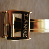 A. Lange & Söhne 16mm YELLOW GOLD folding clasp faltschlie...
