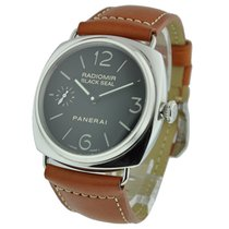 Panerai PAM 00183 PAM 183 - Black Seal Radiomir in Steel -...