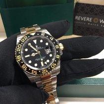 Rolex GMT Master ii 116713LN Steel/Gold