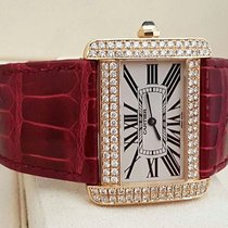 Cartier Tank Divan XL Yellow Gold Diamonds 18 krt (Full Set)